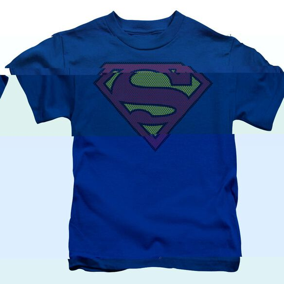 SUPERMAN LITTLE LOGOS - S/S JUVENILE 18/1 - ROYAL BLUE - T-Shirt