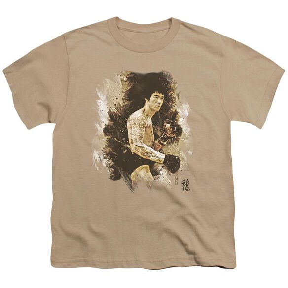 Bruce Lee Intensity Short Sleeve Youth T-Shirt