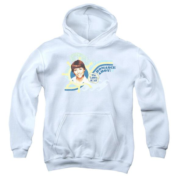 Love Boat Romance Ahoy Youth Pull Over Hoodie