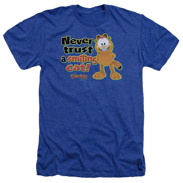 Garfield Smiling Adult Heather Royal