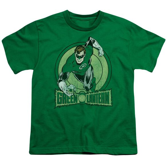 Dc Lantern Short Sleeve Youth Kelly T-Shirt