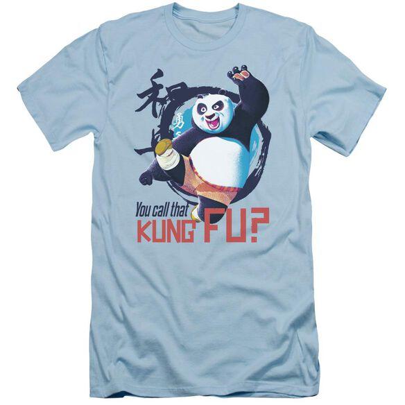 Kung Fu Panda Kung Fu Short Sleeve Adult Light T-Shirt