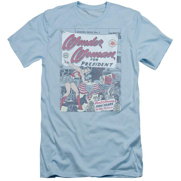 Dc Ww For President Short Sleeve Adult Light T-Shirt