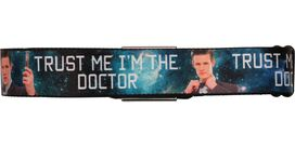 Doctor Who Trust Me I'm the Doctor Seatbelt Mesh Belt