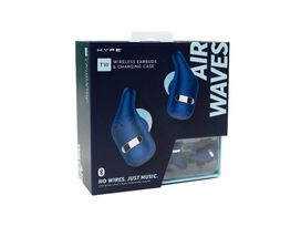 HYPE Air Waves True Wireless Earbuds & Charging Case [Blue]