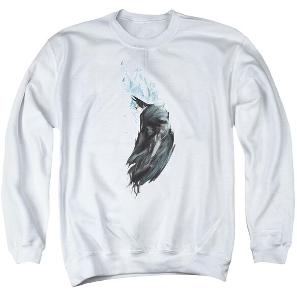 Batman Wash - Adult Crewneck Sweatshirt - White