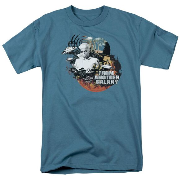 Twilight Zone From Another Galaxy Short Sleeve Adult Slate T-Shirt