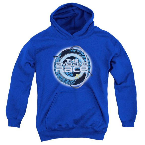 Amazing Race Around The Globe Youth Pull Over Hoodie