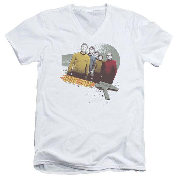 Star Trek Strange New Worlds Short Sleeve Adult V Neck T-Shirt