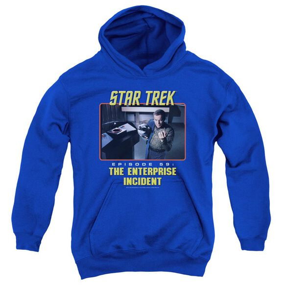 St Original The Enterprise Incident Youth Pull Over Hoodie