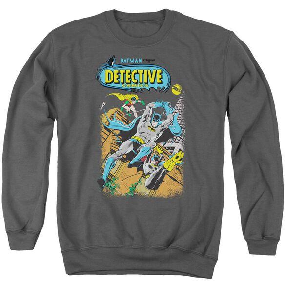 Batman Detective #487 - Adult Crewneck Sweatshirt - Charcoal