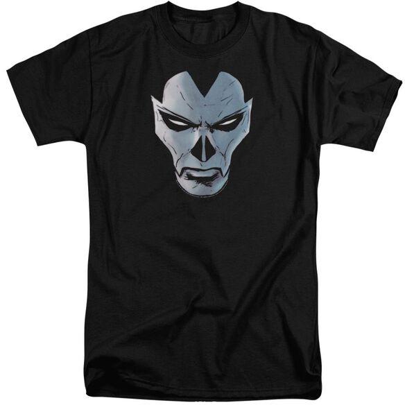 Shadowman Comic Face Short Sleeve Adult Tall T-Shirt