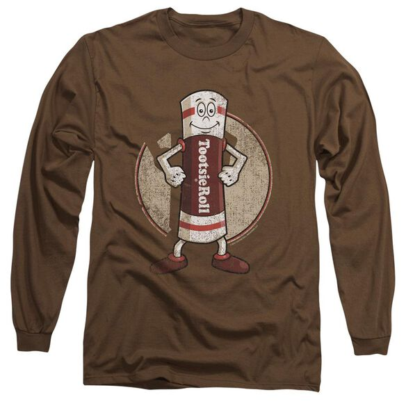 Tootsie Roll Tootsie Man Long Sleeve Adult T-Shirt