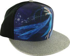 Frozen Elsa Glitter Visor Snapback Hat