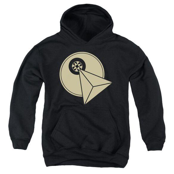 Star Trek Vulcan Logo Youth Pull Over Hoodie