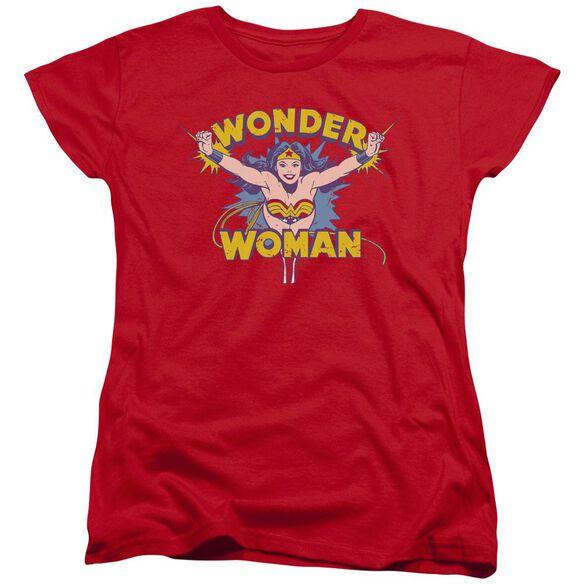 Dc Flying Through Short Sleeve Womens Tee T-Shirt