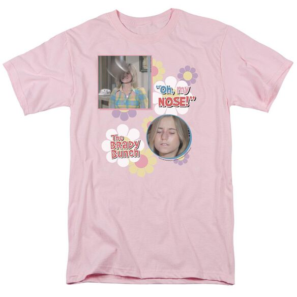 BRADY BUNCH OH, MY NOSE! - S/S ADULT 18/1 - PINK T-Shirt