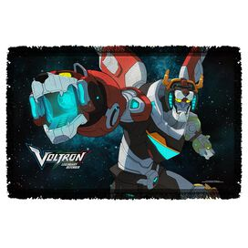 Voltron Defender Of The Universe Woven Throw
