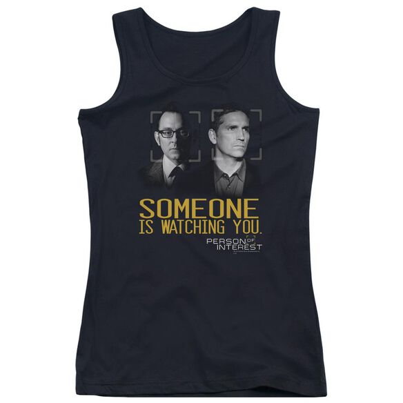 Person Of Interest Someone Juniors Tank Top