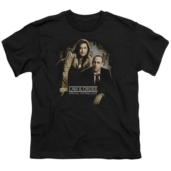 Law And Order Svu Helping Victims Short Sleeve Youth T-Shirt