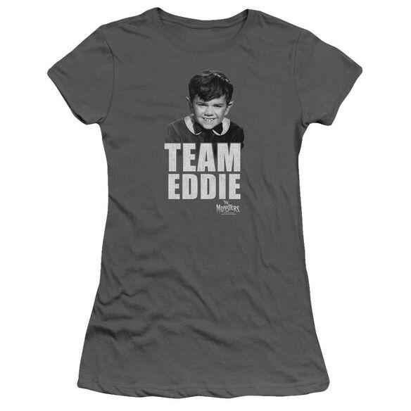 The Munsters Team Edward Short Sleeve Junior Sheer T-Shirt