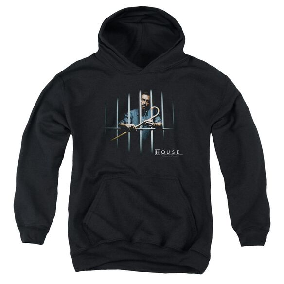 House Behind Bars Youth Pull Over Hoodie