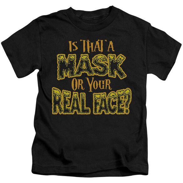 Mask Short Sleeve Juvenile T-Shirt