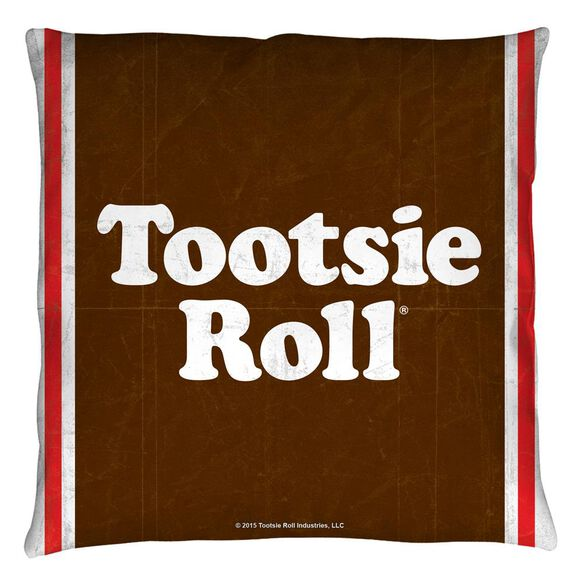Tootise Roll Wrapper Throw
