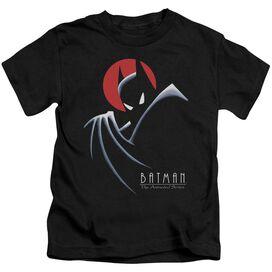 Batman The Animated Series Behind The Cape Short Sleeve Juvenile T-Shirt