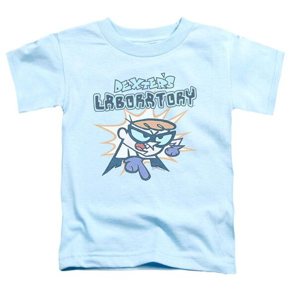 Dexter's Laboratory What Do You Want Short Sleeve Toddler Tee Light Blue Sm T-Shirt