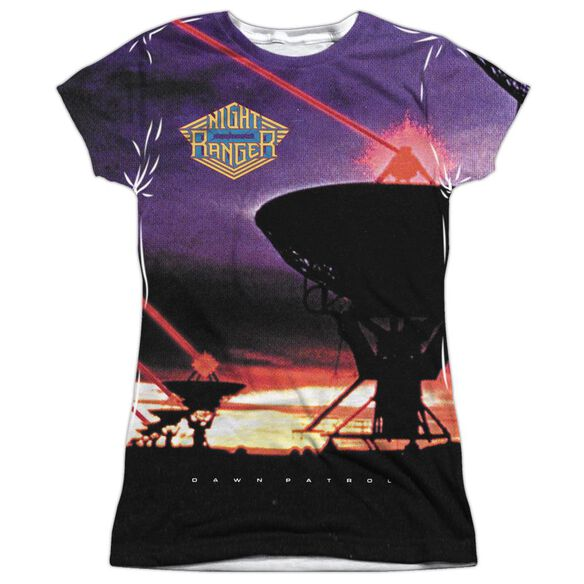 Night Ranger Dawn Patrol Short Sleeve Junior Poly Crew T-Shirt