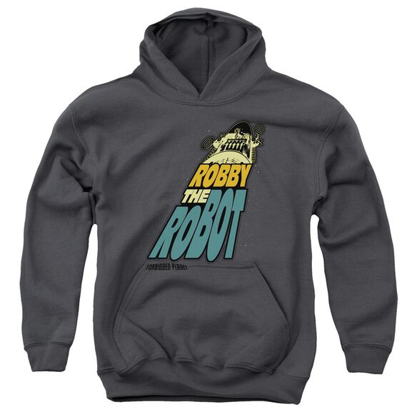 Forbidden Planet Robby The Robot Youth Pull Over Hoodie