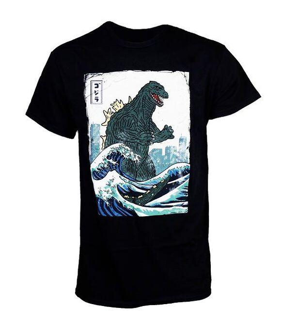 Godzilla Great Wave Off Kanagawa T-Shirt