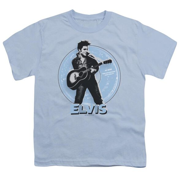Elvis 45 Rpm Short Sleeve Youth Light T-Shirt