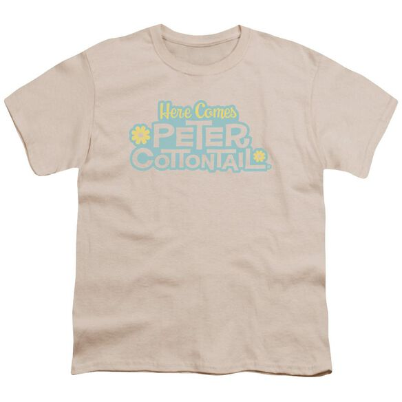 Here Comes Peter Cottontail Logo Short Sleeve Youth T-Shirt