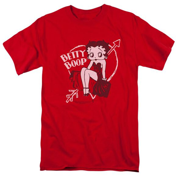 Betty Boop Lover Girl Short Sleeve Adult T-Shirt
