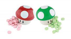 Mario Power Up Mushroom Sour Candy Tin