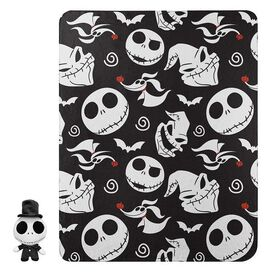 Nightmare Before Christmas Jack Top Hat Hugger & Blanket