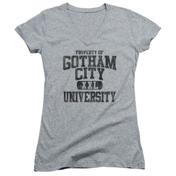 Batman Property Of Gcu - Junior V-neck - Athletic Heather
