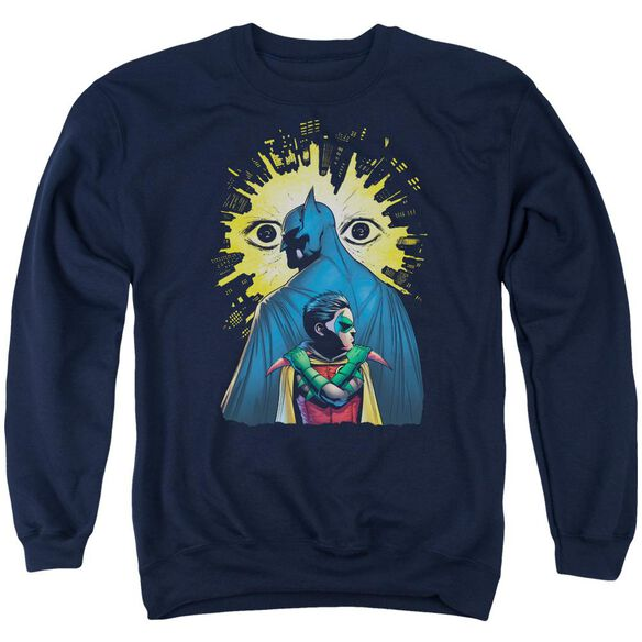 Batman Watchers Adult Crewneck Sweatshirt