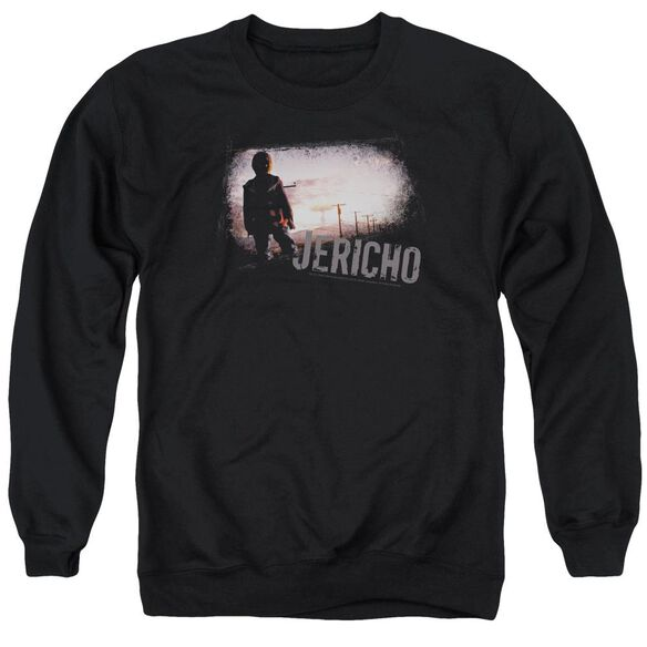 Jericho Mushroom Cloud - Adult Crewneck Sweatshirt - Black