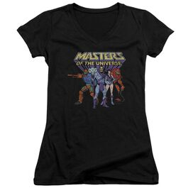 Masters Of The Universe Team Of Villains Junior V Neck T-Shirt