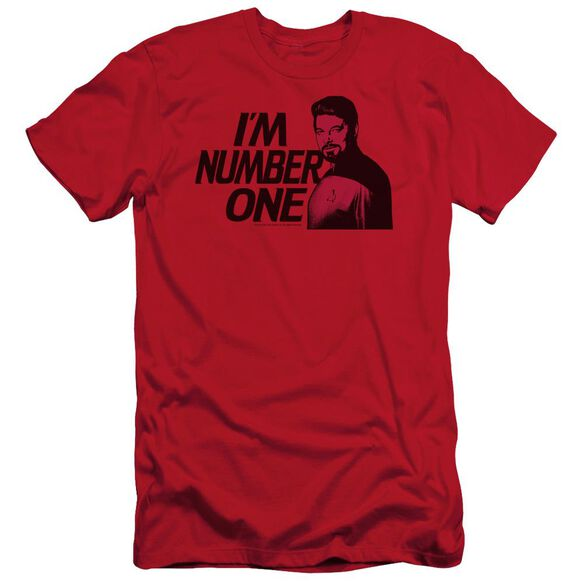 STAR TREK IM NUMBER ONE - S/S ADULT 30/1 - RED T-Shirt