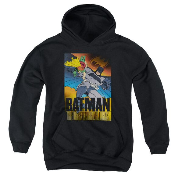Batman Dk Returns Youth Pull Over Hoodie