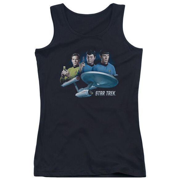 Star Trek Main Three Juniors Tank Top