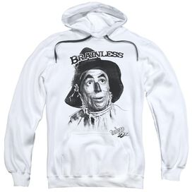 Wizard Of Oz Brainless Adult Pull Over Hoodie