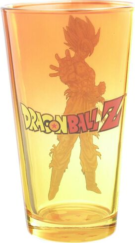 Dragon Ball Z Goku Super Saiyan Pint Glass