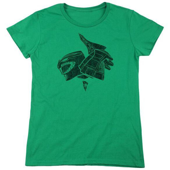Power Rangers Short Sleeve Women's Tee Kelly T-Shirt