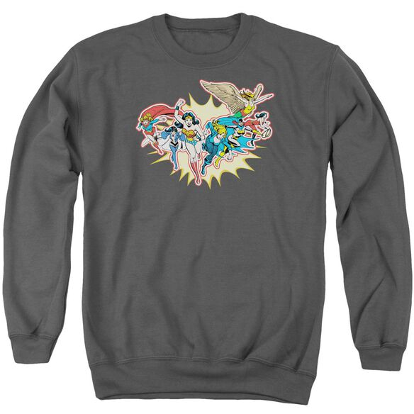 Dc Please Get Me Adult Crewneck Sweatshirt