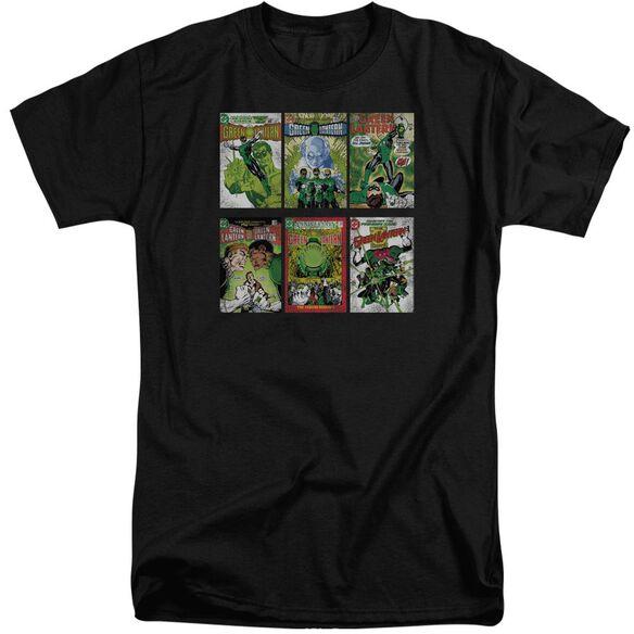 Green Lantern Gl Covers Short Sleeve Adult Tall T-Shirt